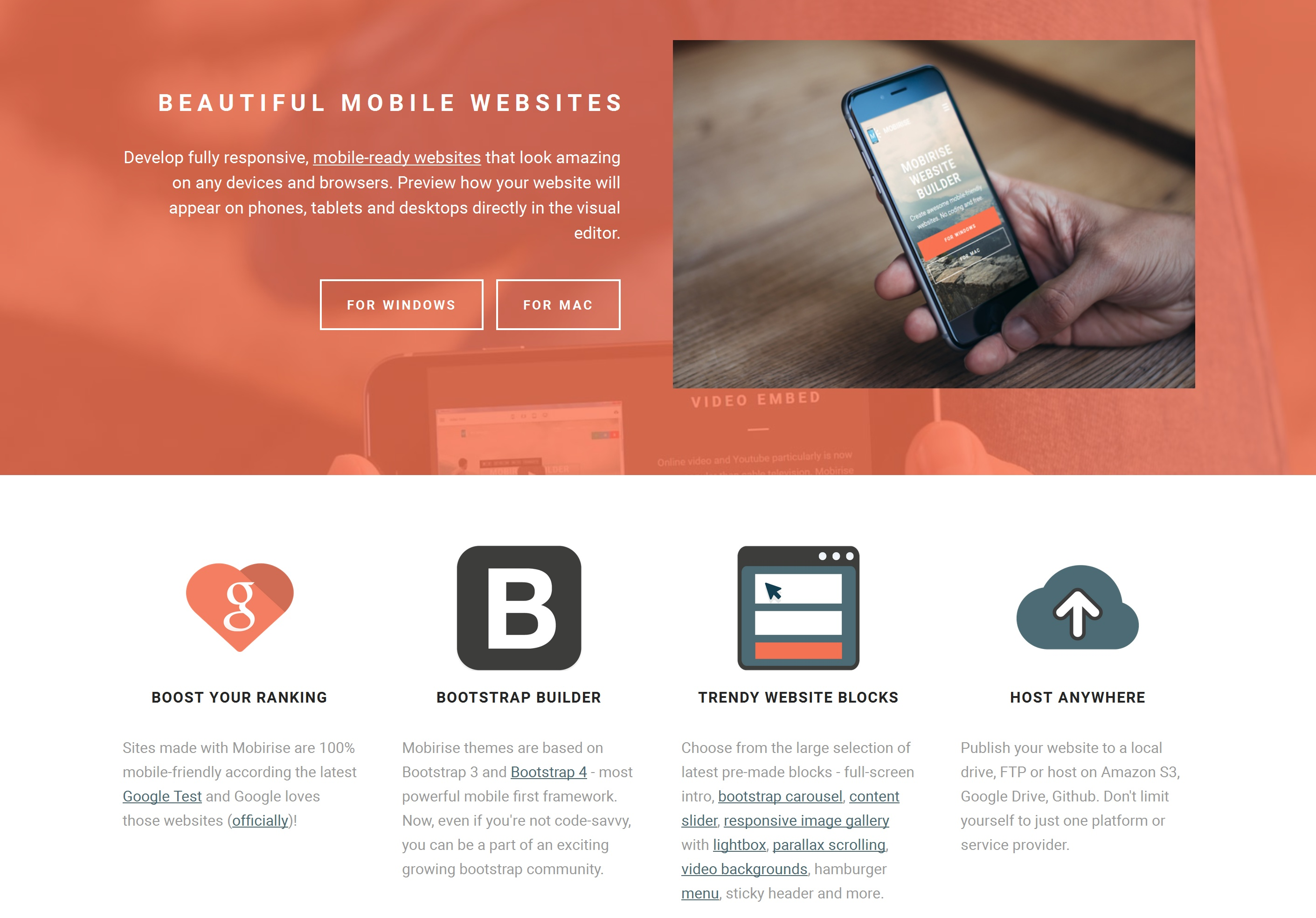 Responsive Mobile Website Builder Software