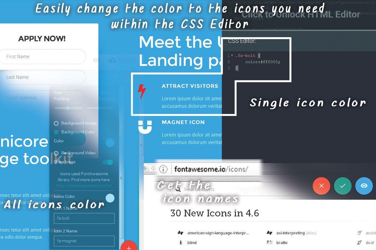 Simple Bootstrap Color Theme