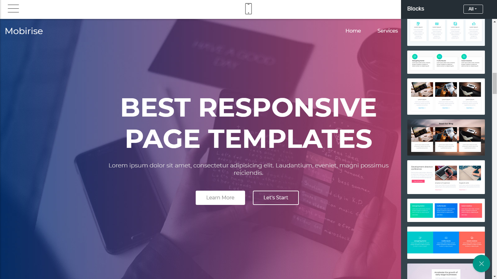 free site templates
