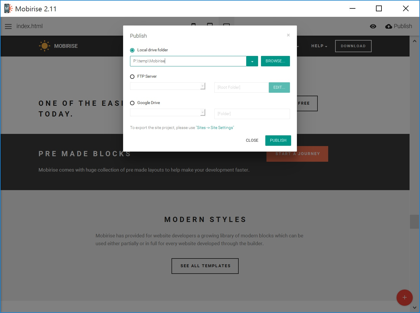 HTML Web Page  Creator Review