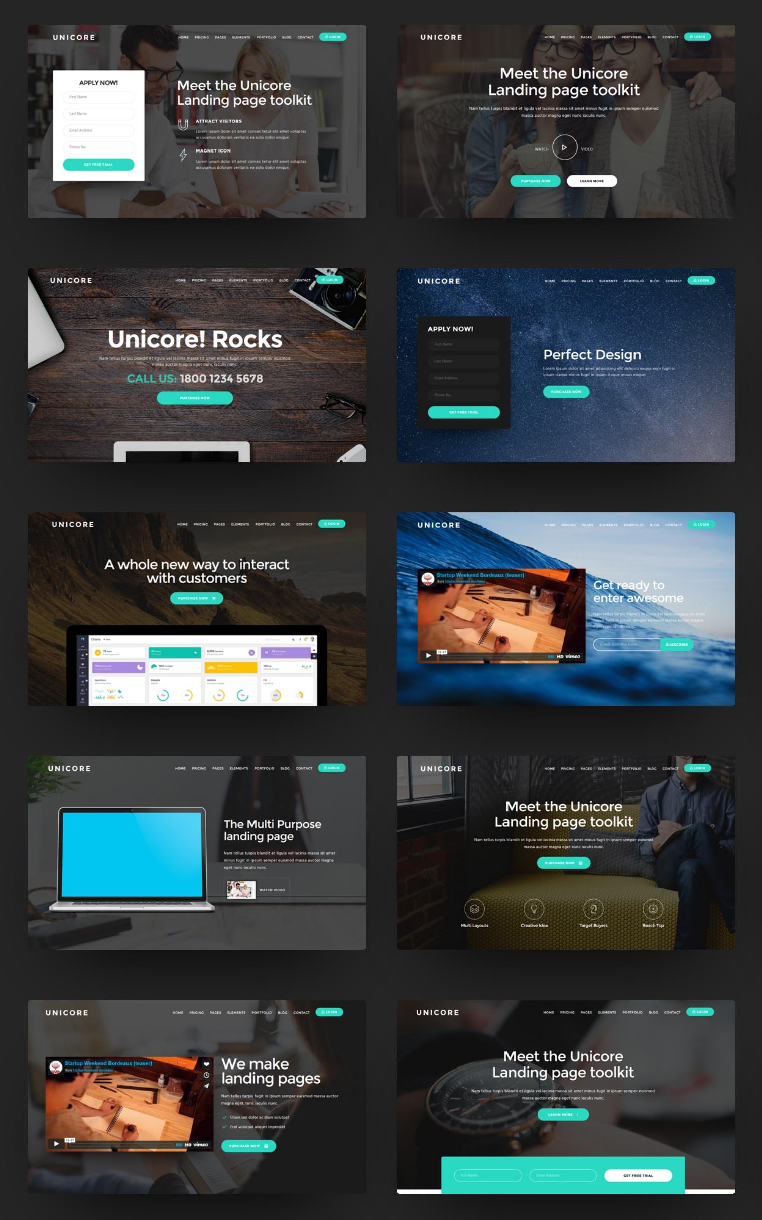Free Bootstrap Minimal Theme Creator