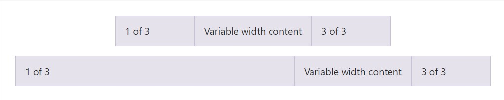 Variable width  material