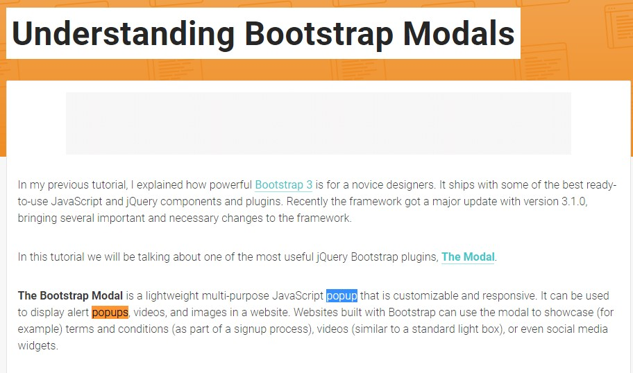 Yet another  helpful  content  regarding Bootstrap Modal Popup