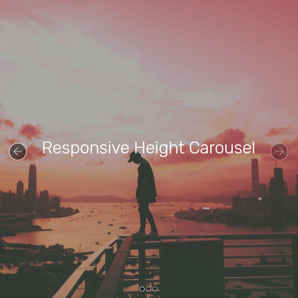 JavaScript Bootstrap Illustration Carousel
