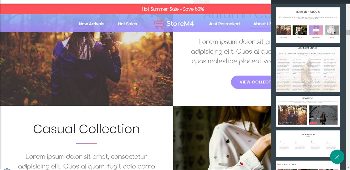 HTML5 Mobile Template