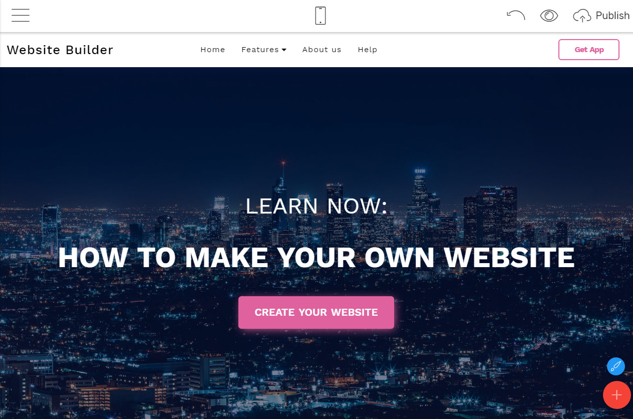 how to make a successful business website