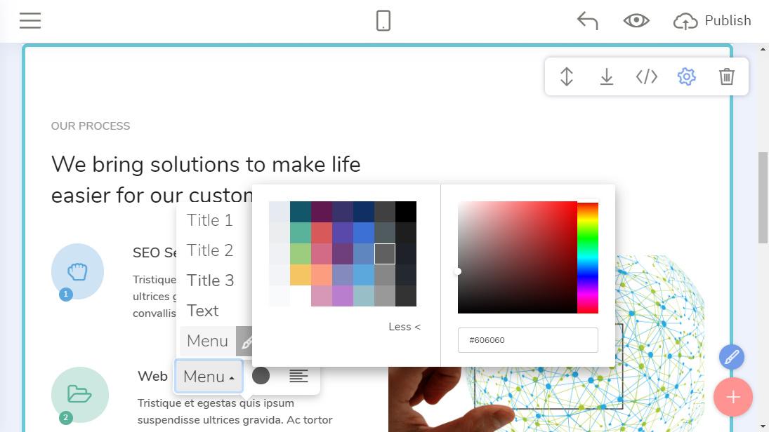 HTML Site Creator