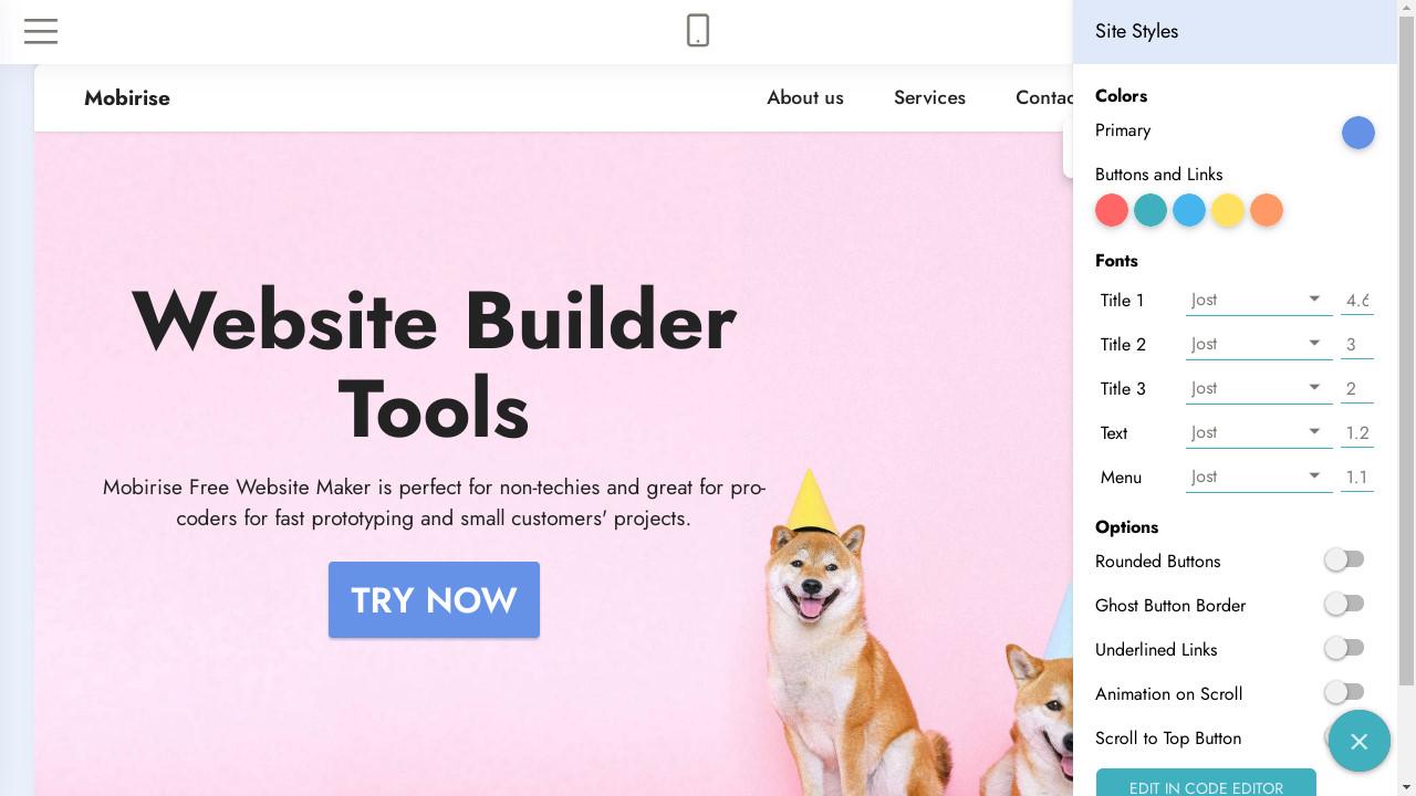 Web Builder